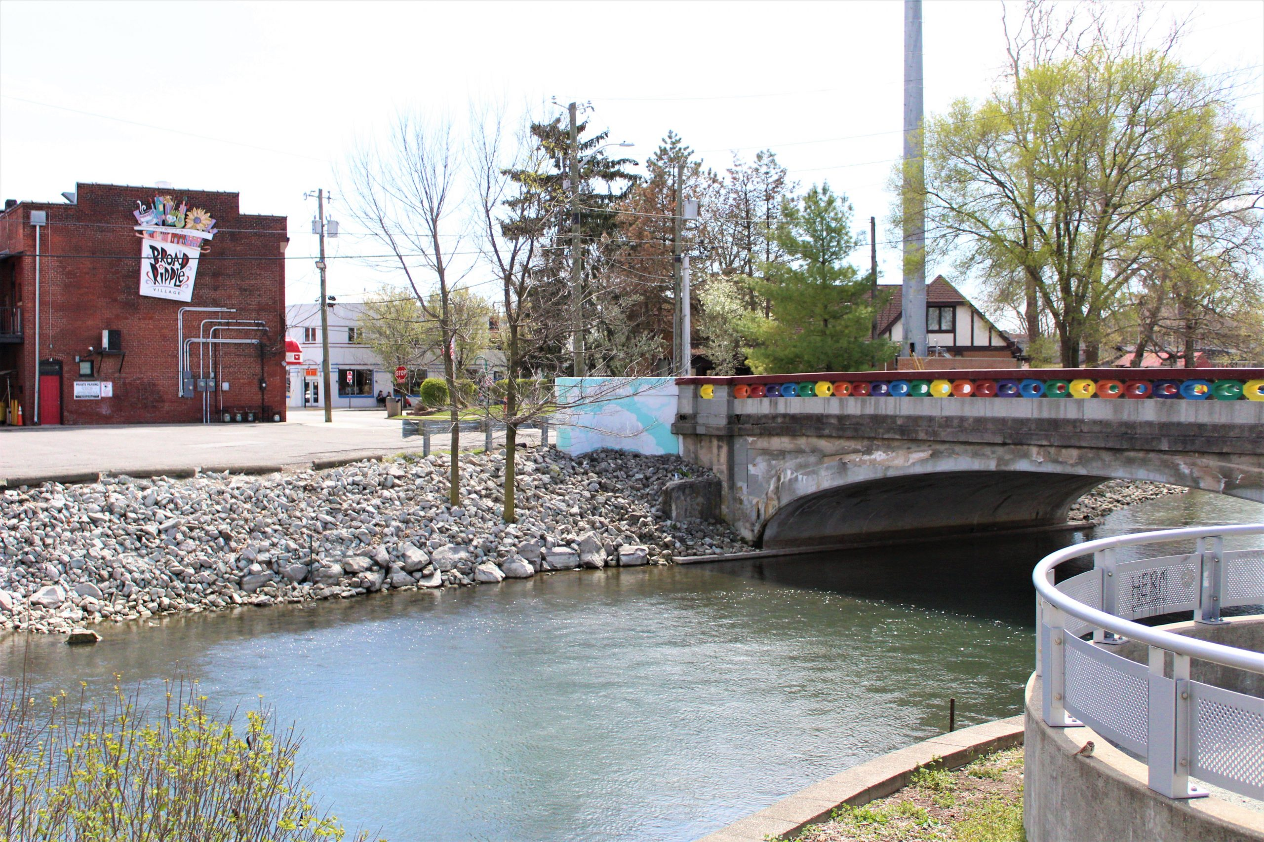 Broad Ripple Rainbow Bridge
