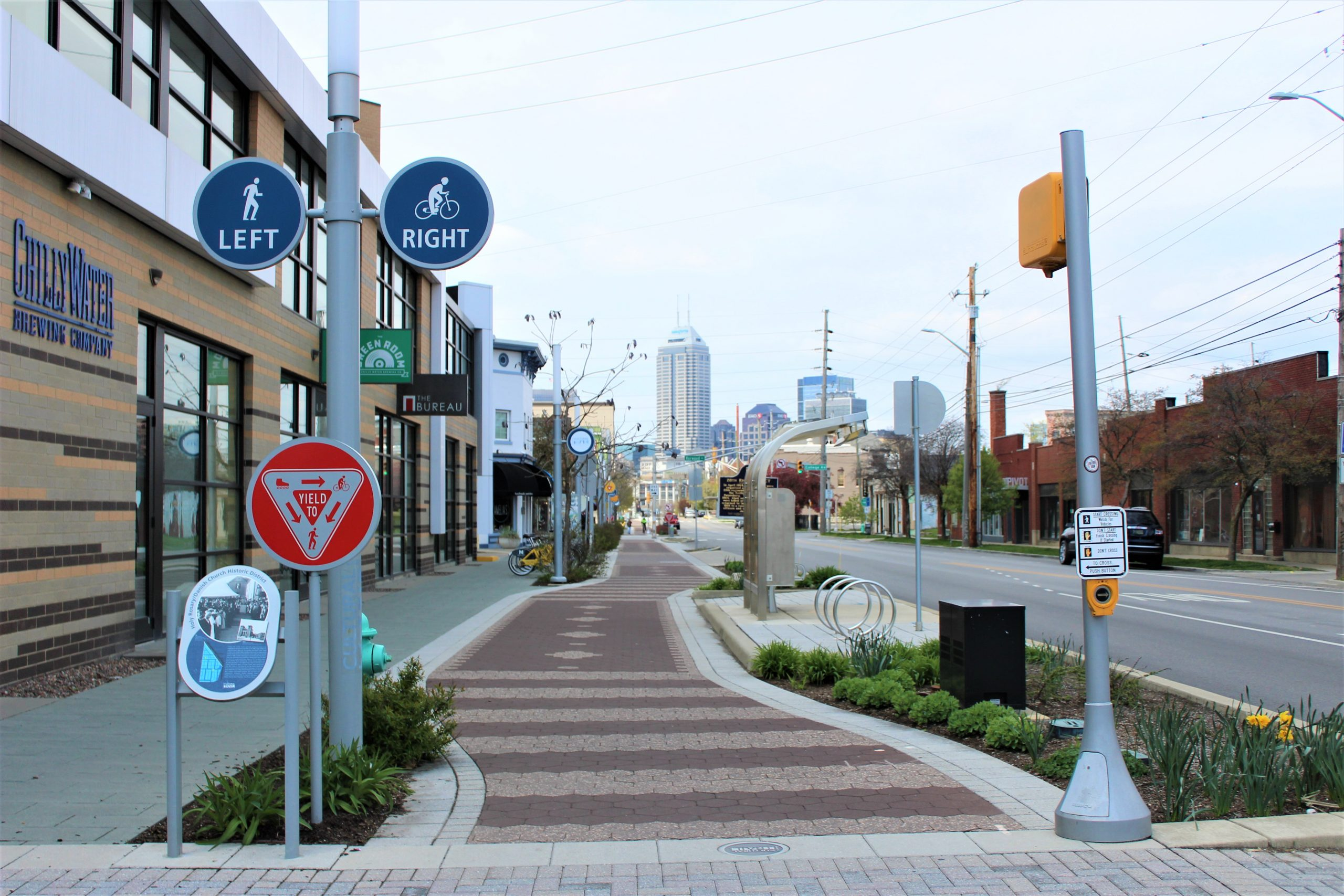 Fletcher Place Neighborhood Cultural Trail and Chilly Water Brewery