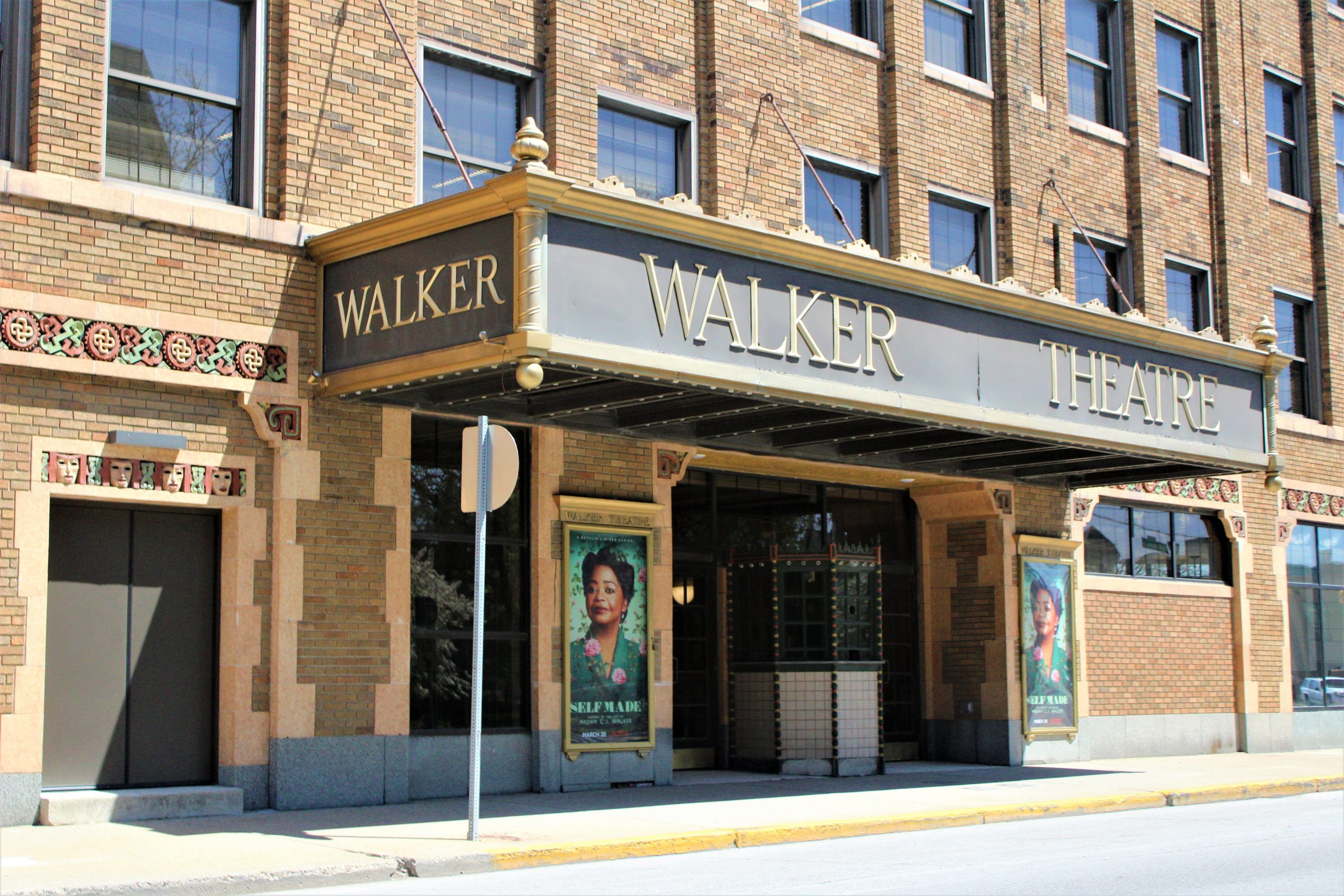 Indiana Ave & Ransom Place - Walker Theatre
