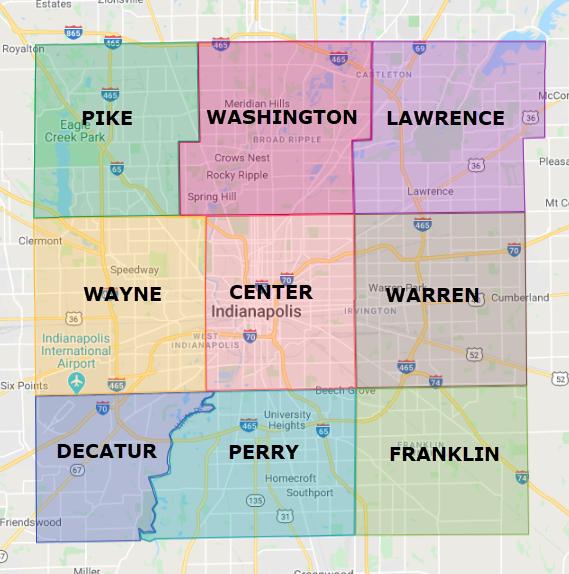 Indianapolis Townships