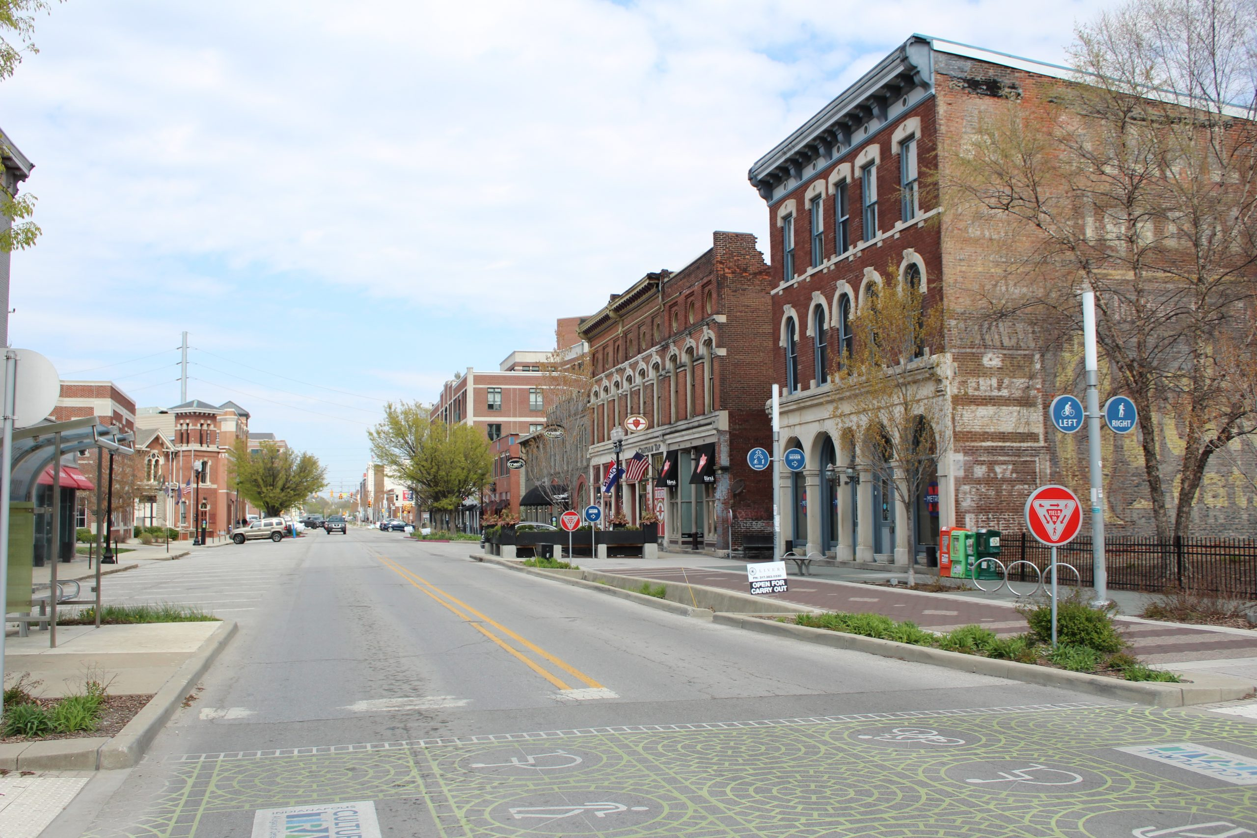 Mass Ave - Chatham Arch - Commercial District