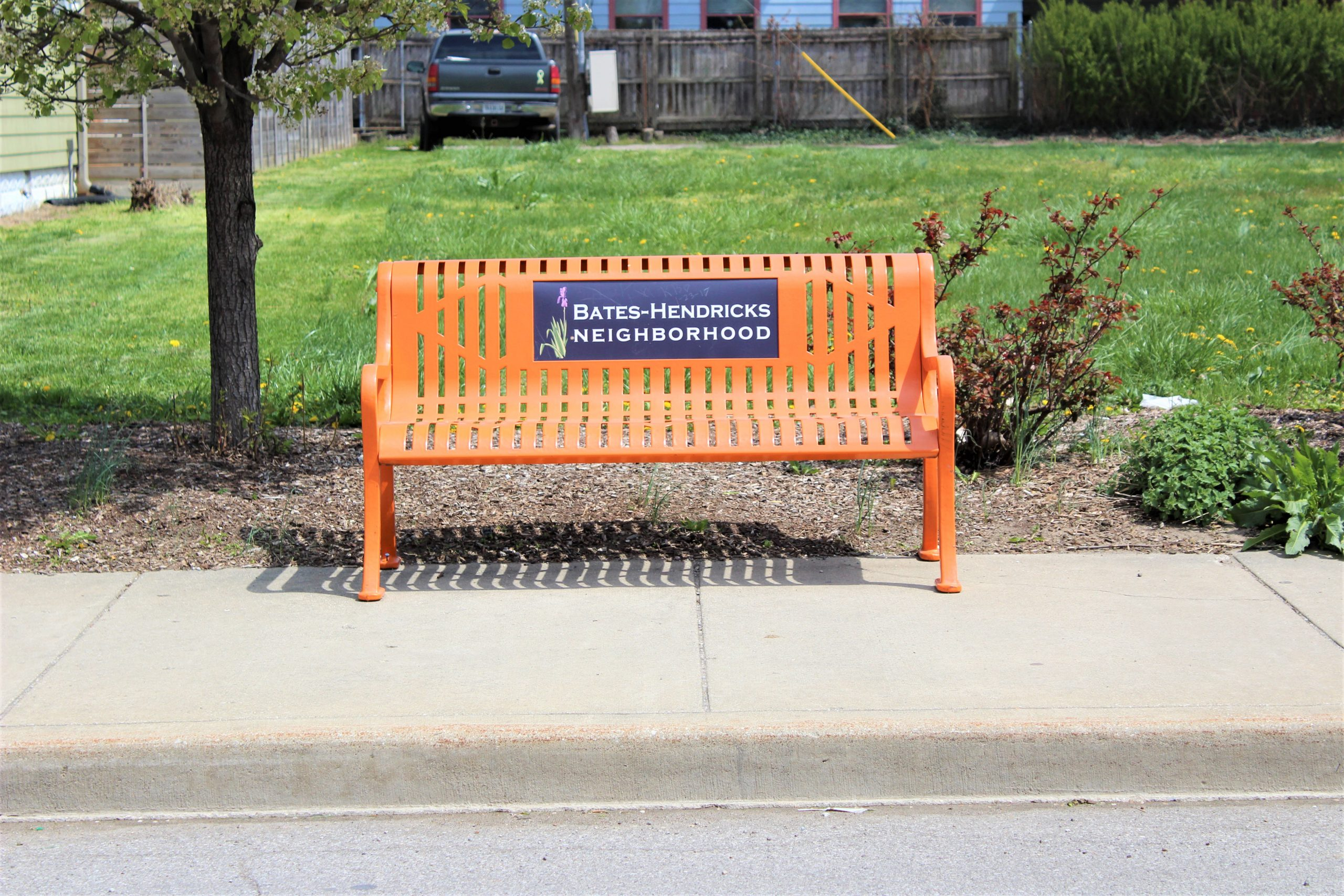 Bates Hendricks Neighborhood Bench
